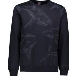 Paul en Shark pullover...