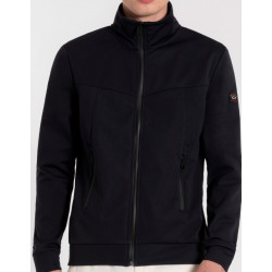 Paul en Shark Softshell jack